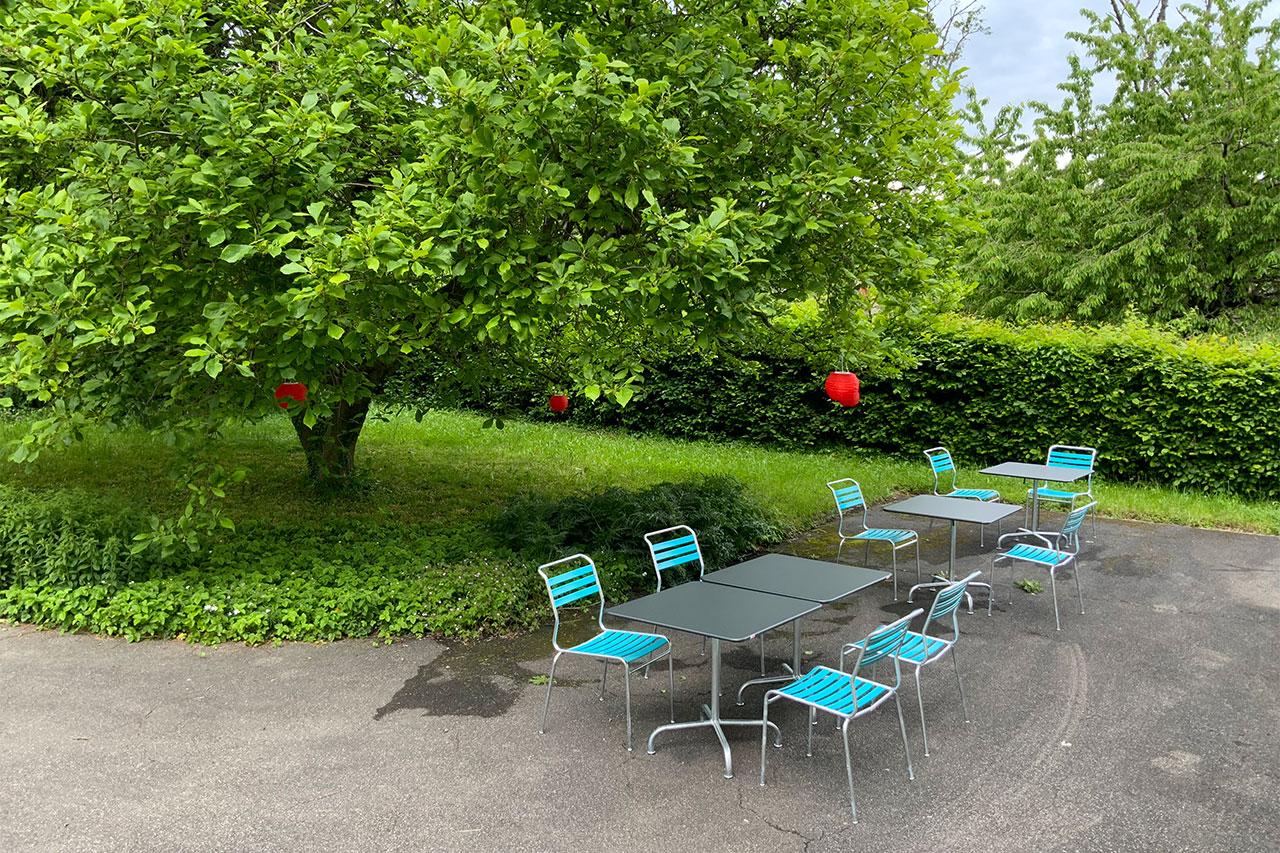 KOSMOS space   Räume zur Tages- / Kurzmiete   Garten Magnolia
