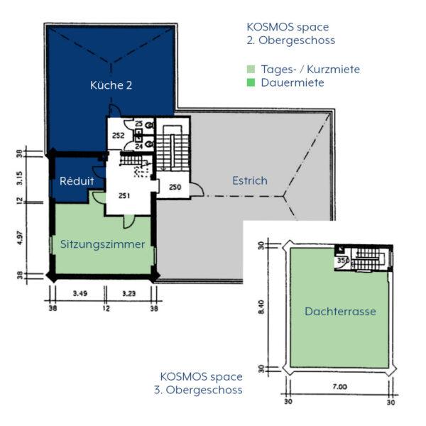 KOSMOS space | Räume zur Tages- / Kurzmiete | Küche 2